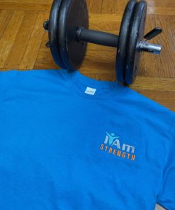 I Am Strength T-Shirt – Blue