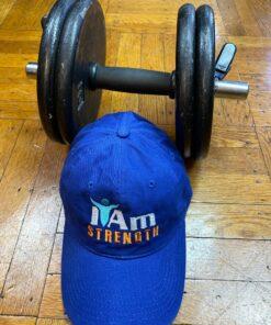 I Am Strength Cap – Blue