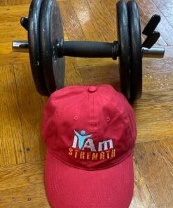 I Am Strength Cap – Red