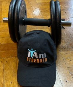 I Am Strength Cap – Black