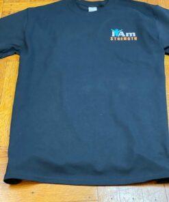 I Am Strength T-Shirt – Black