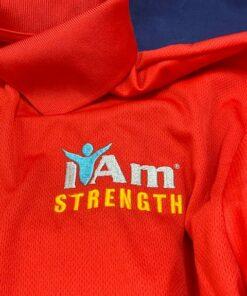 I Am Strength T-Shirt – Red