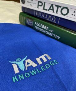 I Am Knowledge T-Shirt – Blue