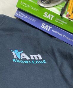 I Am Knowledge T-Shirt – Black