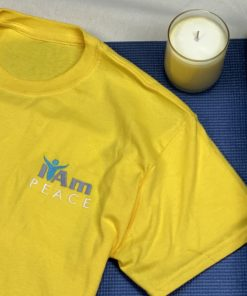 I Am Peace T-Shirt – Yellow