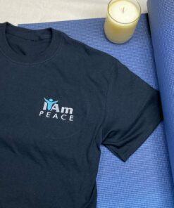 I Am Peace T-Shirt – Black
