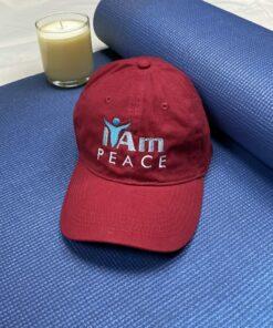 I Am Peace Cap – Red