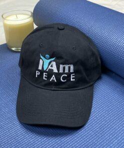 I Am Peace Cap – Black