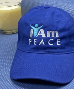 I Am Peace Cap – Blue