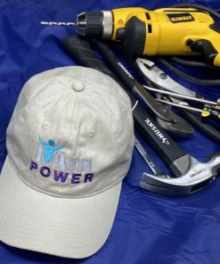 I Am Power Cap – White