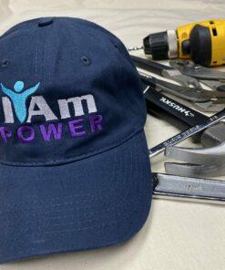 I Am Power Cap – Navy