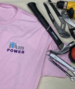 I Am Power T-Shirt – Pink