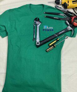 I Am Power T-Shirt – Green