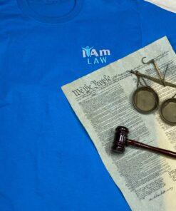 I Am Law T-Shirt – Blue