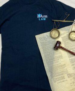 I Am Law T-Shirt – Black