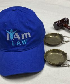I Am Law Cap – Blue