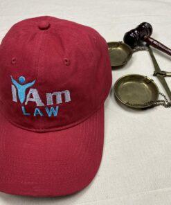 I Am Law Cap – Red