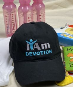 I Am Devotion Cap – Black