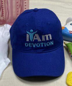 I Am Devotion Cap – Blue