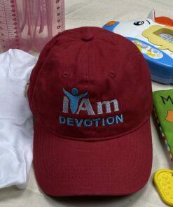 I Am Devotion Cap – Red