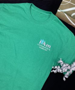 I Am Cooperation and Harmony T-Shirt – Green