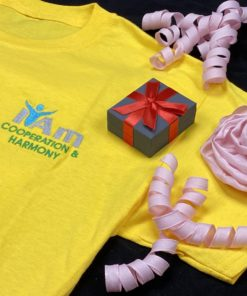 I Am Cooperation and Harmony T-Shirt – Yellow
