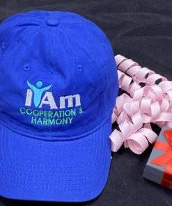 I Am Cooperation and Harmony Cap – Blue