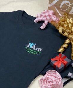 I Am Cooperation and Harmony T-Shirt – Black