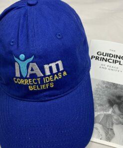 I Am Correct Ideas and Beliefs Cap – Blue