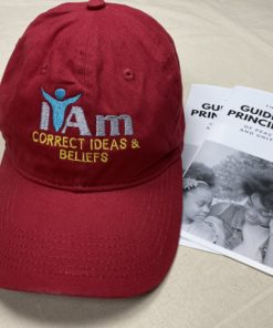 I Am Correct Ideas and Beliefs Cap – Red